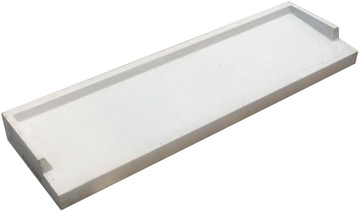 adg beton appui de fen tre af28 b ton gris 100x28 cm. Black Bedroom Furniture Sets. Home Design Ideas