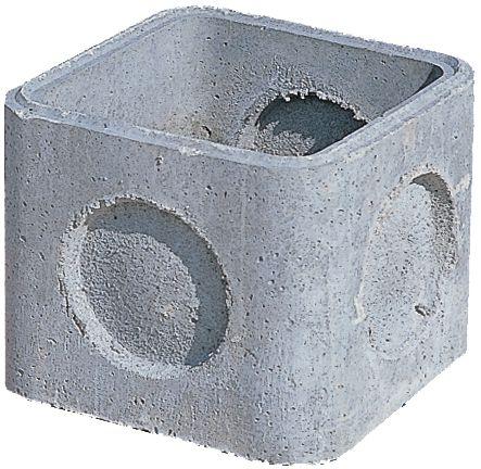 Alkern regard en b ton 60x60x40cm point p - Rehausse chambre de visite beton ...
