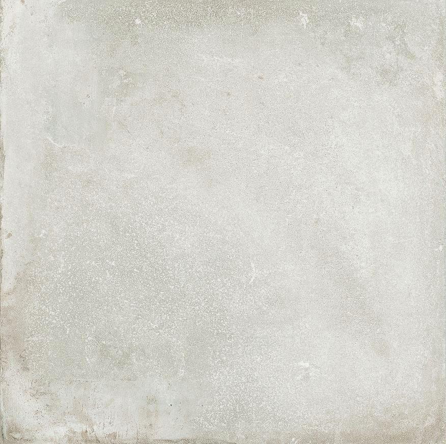 carrelage sol intérieur grès cérame émaillé hector blanc - 60x60
