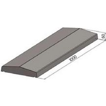 Couvertine alu gris anthracite good outillage with couvertine alu gris anthracite eclisse - Couvertine alu muret ...