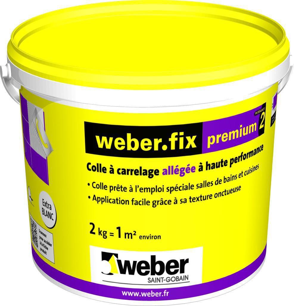 WEBER - Colle allégée pour mur intérieur de salle de bain Weber