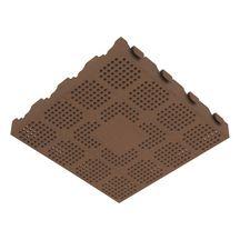 dalle sol ext rieur pvc autoportante e40 marron 40x40 cm p 4 8 cm fgi sas fabulous. Black Bedroom Furniture Sets. Home Design Ideas