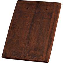 tuile plate de france 1 pf terre cuite terre de sienne 17x24 cm terreal couverture. Black Bedroom Furniture Sets. Home Design Ideas