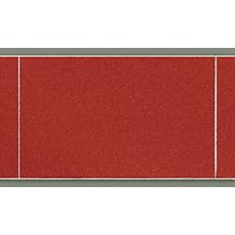 Lambris pvc imitation carrelage d cor rouge satin les - Lambris pvc imitation carrelage ...