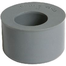 tampon de r duction m le femelle simple ut8 pvc gris 100 80 mm nicoll gros oeuvre bpe. Black Bedroom Furniture Sets. Home Design Ideas