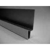 profil de linteau aluminium laqu pour bardage c dral click vanille l 3 m eternit cedral. Black Bedroom Furniture Sets. Home Design Ideas