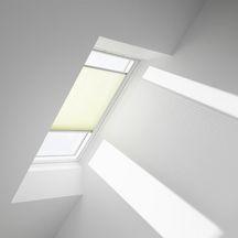 store pliss fhl pour fen tre de toit sk06 114x118 cm blanc velux toiture charpente. Black Bedroom Furniture Sets. Home Design Ideas