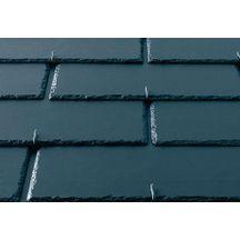 Ardoise fibres ciment lisse kergoat eternit anthracite 40x24 cm eternit couverture - Ardoise fibro ciment amiante ...