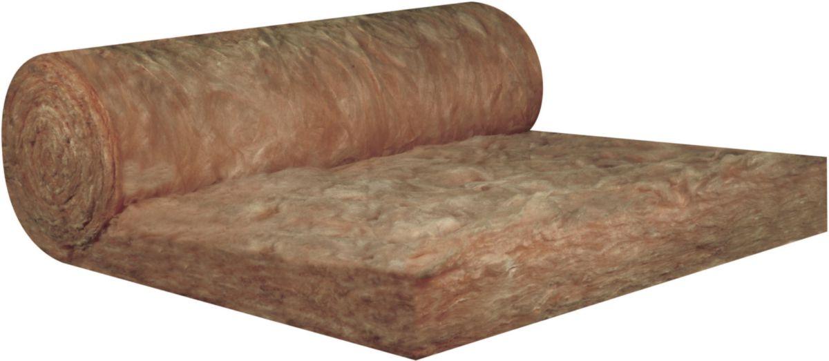 KNAUF INSULATION - Panneau laine de verre roulé semi-rigide nu KI FIT 040 Knauf Insulation - 100 ...