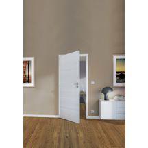 bloc porte ch ne rustique bross ivoire epure huisserie ch ne h72x50 mm poussant droit. Black Bedroom Furniture Sets. Home Design Ideas