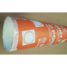 Tube coffrage carton Plus - Ø 250 mm - L. 4 m
