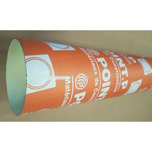 Tube coffrage carton Point.P Premium Light zip Ø 250 mm L 4 m