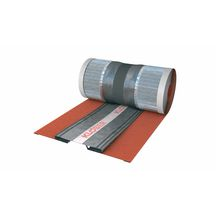 Closoir de ventilation extensible Roll-Fix® premium - rouge - l. 290-320 mm - rouleau de 5 m