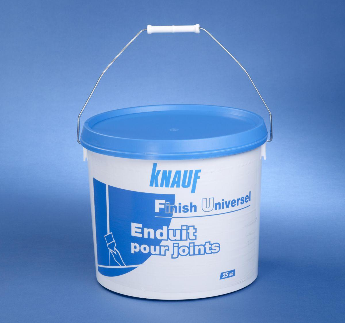 enduit finish universel seau de _5 kg - knauf - plâtre - isolation