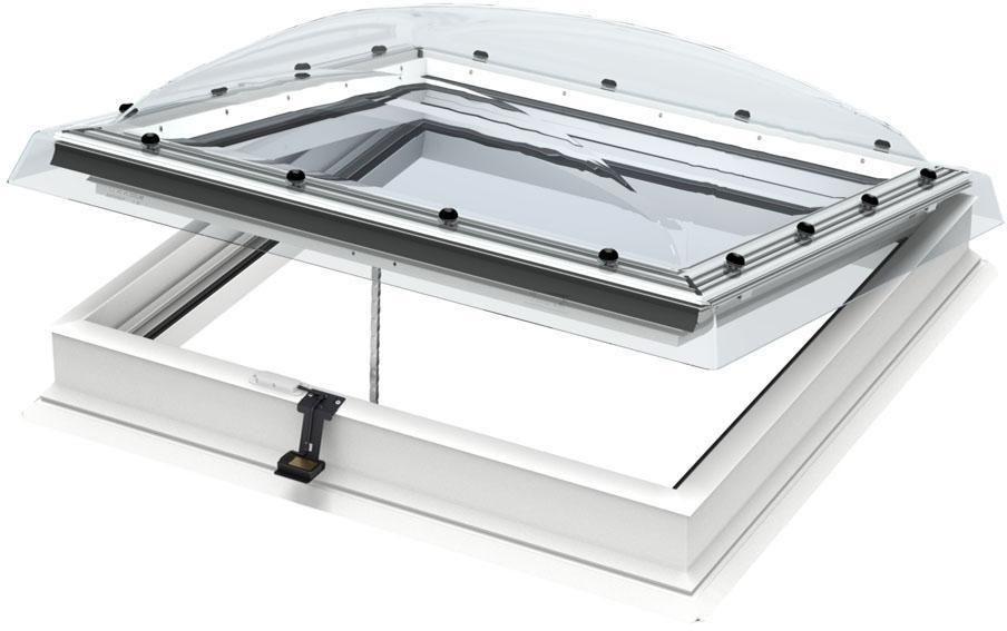 Velux Fenêtre Coupole électrique Pour Toit Plat Cvp Protection