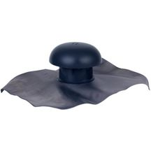 Chapeau de ventilation � collerette d'�tanch�it� Nicoll CD10 40x33 diam�tre 100 mm ardoise