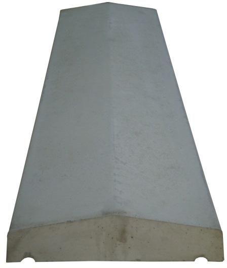 prix chaperon de mur chaperon mur lisse coul 2 pentes tradition blanc cass 49x28x3 cm weser d. Black Bedroom Furniture Sets. Home Design Ideas