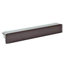 Angle ext�rieur universel 90� mat�riau de synth�se Belriv Syst�me marron Nicoll - H. 415 mm