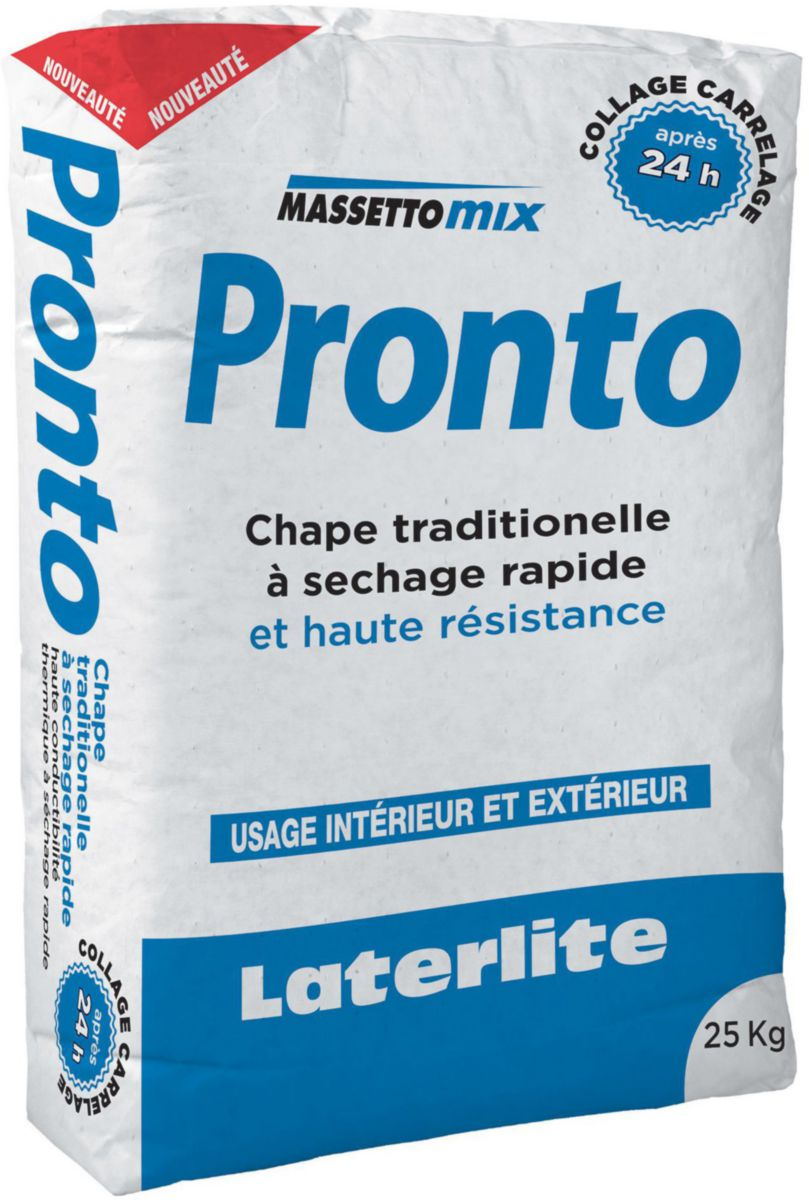 Laterlite Mortier Chape Massettomix Pronto Sac De 25 Kg Point P