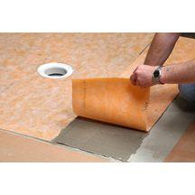 natte d 39 tanch it sous carrelage schl ter kerdi 200 rouleau de 1x30 m p 0 2 mm. Black Bedroom Furniture Sets. Home Design Ideas