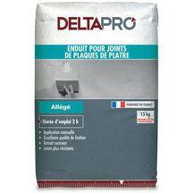 enduit joint plaque de pl tre all g deltapro sac 15 kg deltapro pl tre isolation. Black Bedroom Furniture Sets. Home Design Ideas
