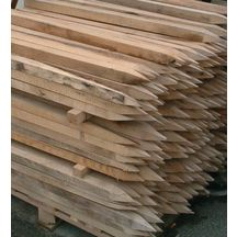 Piquet d'implantation - bois - 50x75 mm - L. 1,5 m