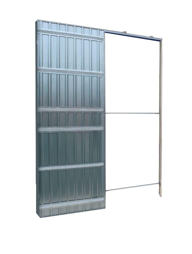Scrigno ch ssis de porte coulissante simple vantail Porte coulissante cloison