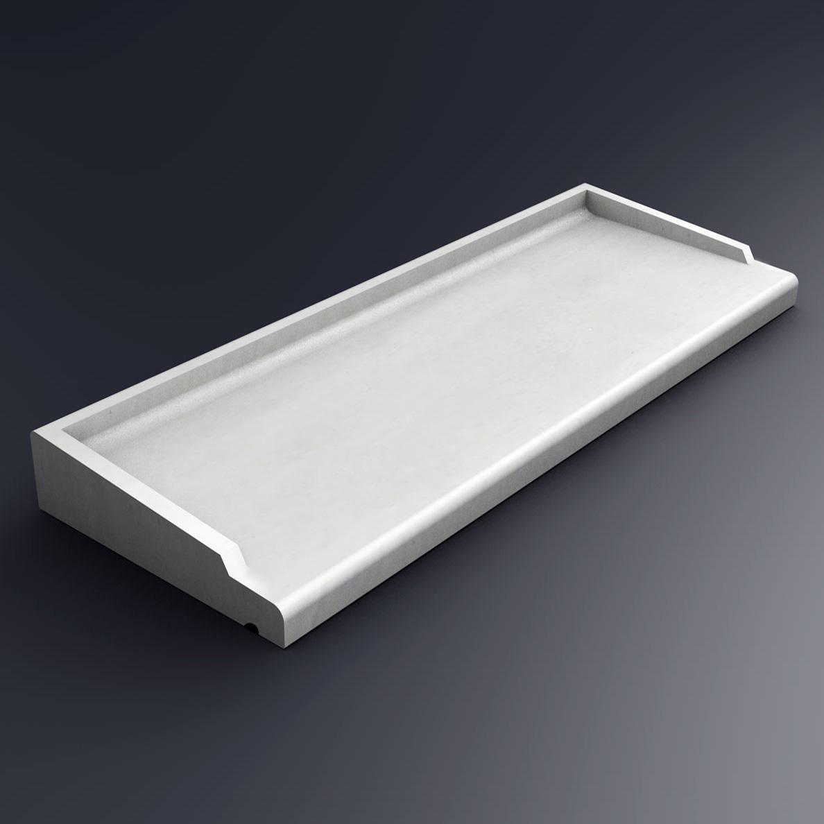 pose d un appui de fenetre beton interesting poser appui. Black Bedroom Furniture Sets. Home Design Ideas