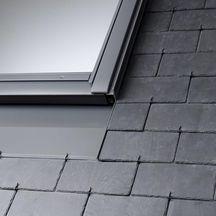 raccord edn pour fen tre de toit mk04 78x98 cm pose encastr e sur ardoises gris anthracite. Black Bedroom Furniture Sets. Home Design Ideas