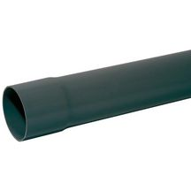 Tube d'évacuation PVC - L. 4 m - Ø 200 mm