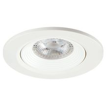 Spot LED encastré orientable Start Spot IP20 - plastique blanc - 5 W/420 lm - blanc neutre