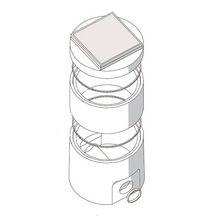 R hausse pour bo te de branchement cylindrique diam tre - Rehausse beton ronde ...