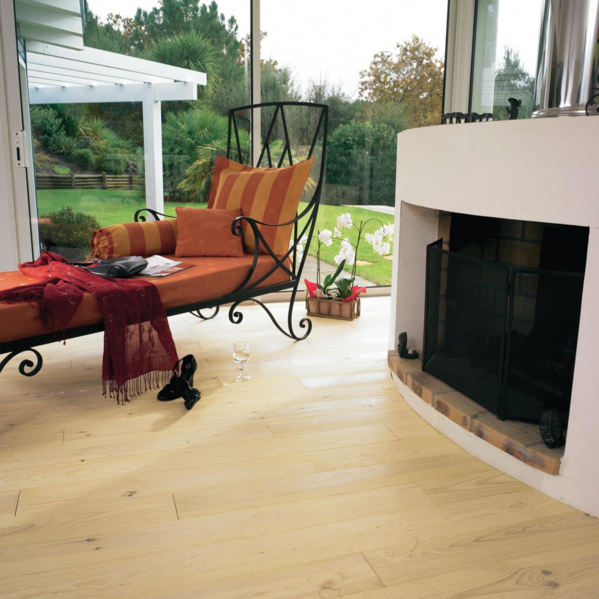 gascogne parquet massif clouer pin maritime huil. Black Bedroom Furniture Sets. Home Design Ideas