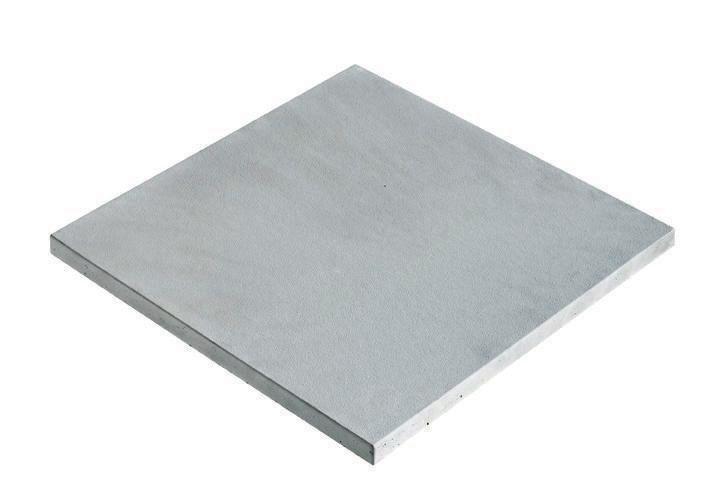 margelle plate droite piana gris argent 50x33x34 cm fabemi dcoration extrieure distributeur de matriaux de construction pointp