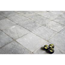Dalle calcaire pierre bleue classique 40x40 cm p 2 5 for Dalle exterieur 40x40