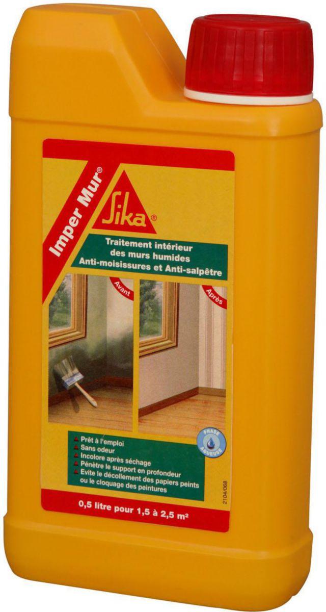 humidit sur mur intrieur finest peinture pour sous sol humide mur interieur humide que faire. Black Bedroom Furniture Sets. Home Design Ideas