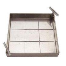 trappe pour niche de compteur d 39 eau 60x80 cm acier galvanis 66x50 cm fabemi gros oeuvre. Black Bedroom Furniture Sets. Home Design Ideas