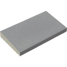 chaperon classique 1 pente ton gris 50x28x4 cm weser d coration ext rieure distributeur. Black Bedroom Furniture Sets. Home Design Ideas