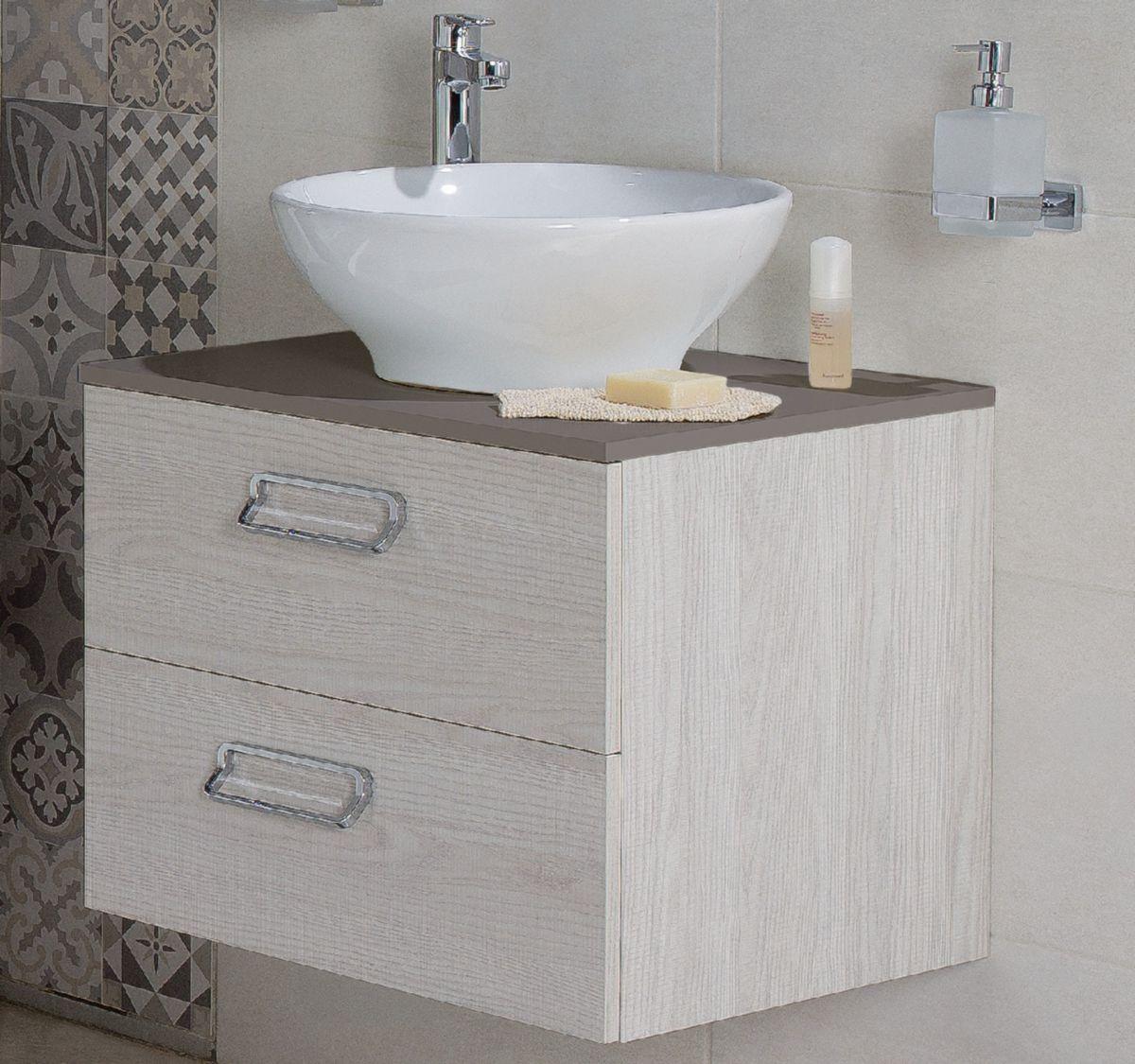 Meuble Salle De Bain Cedeo Alterna ~ plan 60 cm pour vasque poser taupe alterna d coration