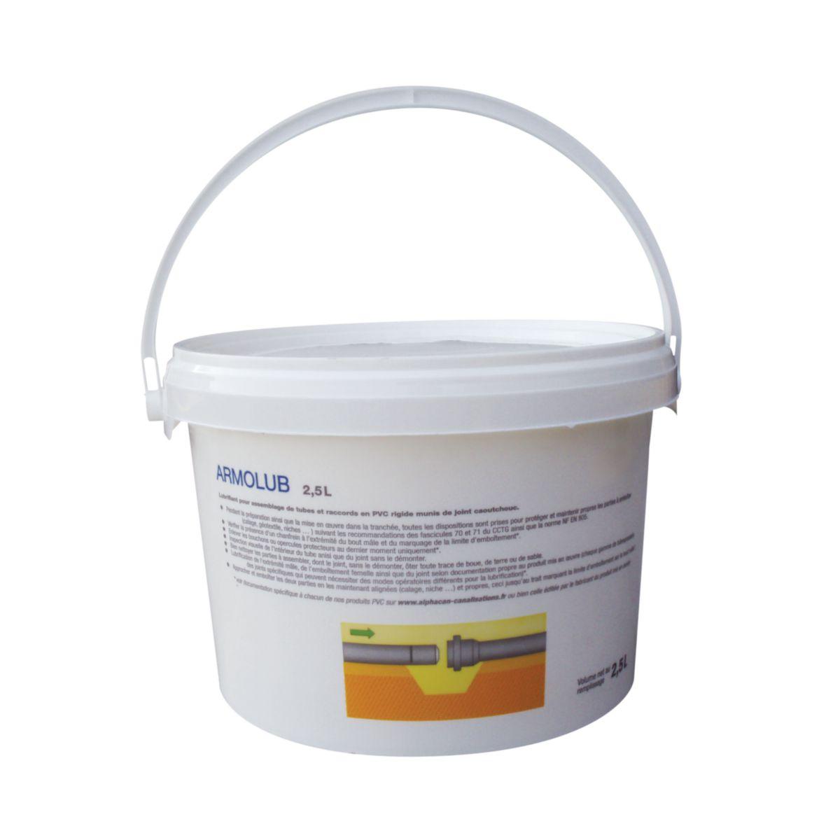Pipelife Pâte Lubrifiante Pour Tube Pvcpp Rigide Armolub
