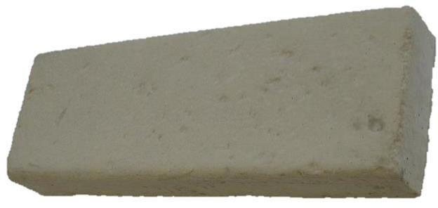Tartarin Bordure Béton P1 Teinte Parvis 60x8x20 Cm
