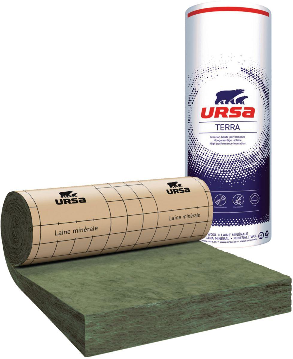 ursa laine de verre rev tue kraft mrk 35 p 200 mm 3 2x1 2 m r 5 7 m k w point p
