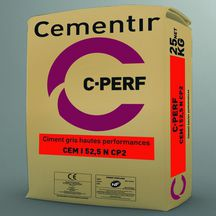 Ciment hautes performances C-Perf - sac de 25 kg