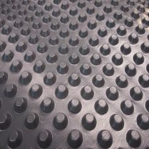 nappe de protection alv olaire pour mur enterr 500 gr. Black Bedroom Furniture Sets. Home Design Ideas