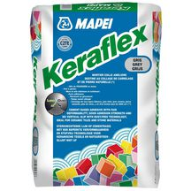 Mortier colle Mapei Keraflex haute performance gris -90% de poussi�re sac 25 kg