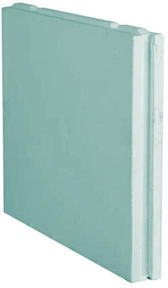 carreau de plâtre plein hydrofugé caroplatre - 66x50 cm - ép. 5 cm