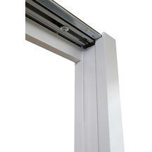 habillage bois pour ch ssis de porte coulissante speedy blanc h 204 cm l de passage 63. Black Bedroom Furniture Sets. Home Design Ideas