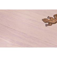 Parquet bambou massif aspect bois bamboo Solida - Silica White - 14x135x1830 mm