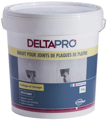 Enduit Joint Plaque De Plâtre Prise Prêt à Lu0027emploi DELTAPRO Seau 25 Kg    DELTAPRO   Plâtre   Isolation   ITE   Distributeur De Matériaux De  Construction ...