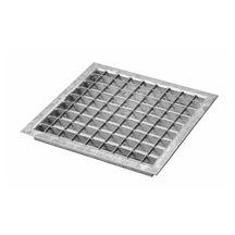 grille caillebotis acier galvanis pour caniveau b ton sm100 classe b125 133x25 mm l 1 m. Black Bedroom Furniture Sets. Home Design Ideas